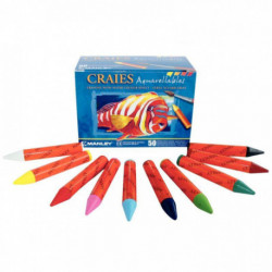 BTE 50 PASTEL AQUAREL ASS