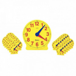 SET COMPLET 25 HORLOGES JAUNES