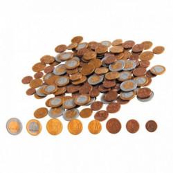SACHET DE 160 PIÈCES EUROS FACTICES EN PLASTIQUE