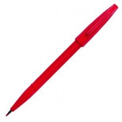 STYLO FEUTRE MOYEN SIGN PEN ROUGE