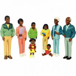 FAMILLE AFRICAINE 8 FIGURINES