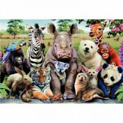 PUZZLE 300 PIÈCES PHOTO DE CLASSE ANIMAUX