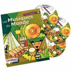 COFFRET 3CD MUSIQUE DU MONDE