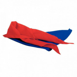 LOT DE 6 FOULARDS DE JEU EN NYLON - ROUGE