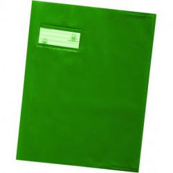 PROTEGE-CAHIERS 17x22 12/100 VERT HAMELIN 400021215