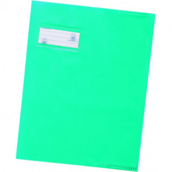 PROTEGE-CAHIERS 17x22 12/100 TURQUOISE HAMELIN 400021207