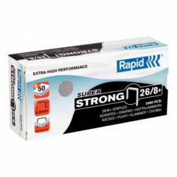AGRAFES 26/8+ 60F SUPERSTRONG BTE 5000 RAPID 24862200