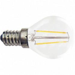 AMPOULE LED SPHÉRIQUE CLAIRE E14 3W