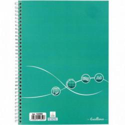 CAHIER RELIURE INTÉGRALE 160 PAGES EXCELLENCE A4 QUADRILLÉ 5X5 60G