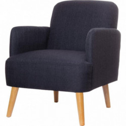 FAUTEUIL BROOKS GRIS ANTHRACITE
