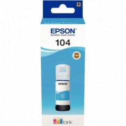 FLACON ENCRE À LA MARQUE EPSON T00P240 CYAN