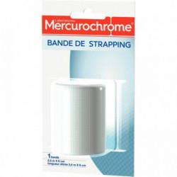 BANDE DE STRAPPING 2,5X6CM MERCUROCHROME
