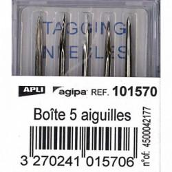 BOÎTE DE 5 AIGUILLES POUR PISTOLET RÉF 101545