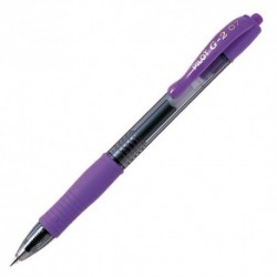 PILOT G2 VIOLET RETRACTABLE