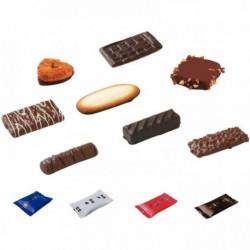 CARTON ASSORTIMENT DE 125 BISCUITS CHOCOLATÉS CALIDA