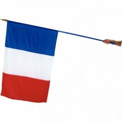 DRAPEAU FRANCE ECOFIX 100X150CM + HAMPE
