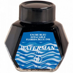 FLACON DE 5 CL D'ENCRE WATERMAN BLEUE