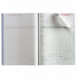 MANIFOLD NOTES DE FRAIS NCR 21 X 29,7 CM 50 DUPLICATAS