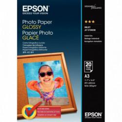 PAPIER PHOTO PREMIUM GLACÉ EPSON A3 200G PAQUET DE 20 FEUILLES