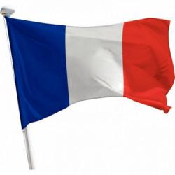 PAVILLON FRANCE 1,5X2,25M + ANNEAUX