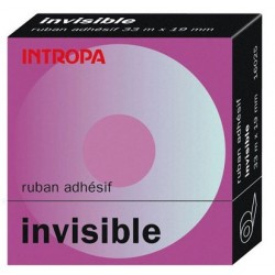 ADHESIF INTROPA INVISIBLE 19MMx33M