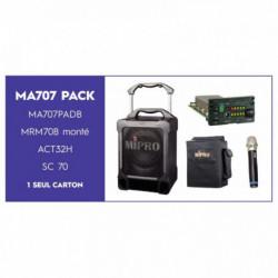 SONORISATION MA707 CD/USB 100W