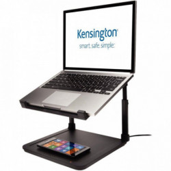SUPPORT NOTEBOOK AVEC RECHARGE SMARTPHONE