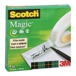 ADHESIF SCOTCH MAGIC 810 19MMx66M