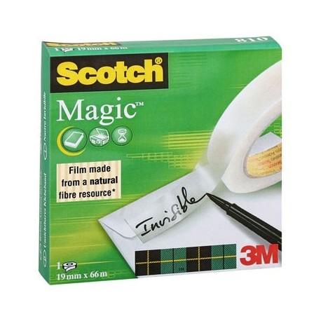 ADHESIF SCOTCH MAGIC 810 19MMx66M