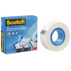 ADHESIF SCOTCH MAGIC II 811 19MMx33M