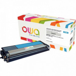 TONER LASER COMPATIBLE À LA MARQUE BROTHER TN321C CYAN
