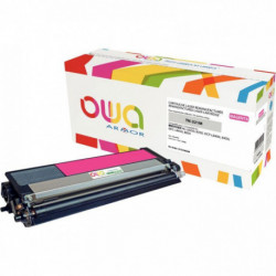 TONER LASER COMPATIBLE À LA MARQUE BROTHER TN321M MAGENTA