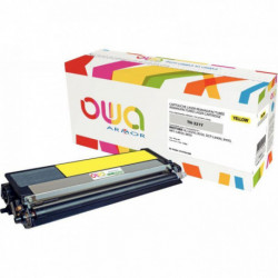 TONER LASER COMPATIBLE À LA MARQUE BROTHER TN321Y JAUNE