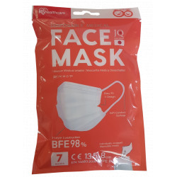 MASQUE MEDICAL JETABLE ENFANT TYPE II  NORME EN14683 SACHET DE 7