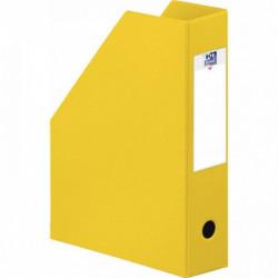 BTE DE CLASSEMENT COLOR LIFE PLIANTE PVC DOS 7 JAUNE 400080224