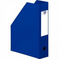 PORTE REVUES  COLOR LIFE PLIANTE PVC DOS 10 BLEU FONCE 400080230