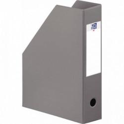 PORTE REVUES COLOR LIFE PLIANTE PVC DOS 7 GRIS   ELBA 400080227