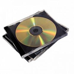 BOITIER CD ROM LOT 10 NOIR FELLOWES 98310