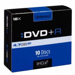 PAQUET DE 10 DVD+R INTENSO 4,7 GO