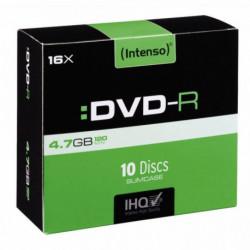 PAQUET DE 10 DVD-R INTENSO 4,7 GO
