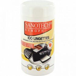 LINGETTES NETTOYANTES BUREAUTIQUE  *BTE 100* ST0170