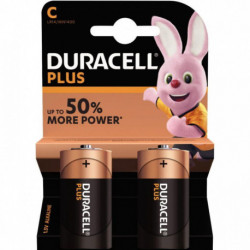 PILE DURACELL PLUS POWER C x 2 5000394019089