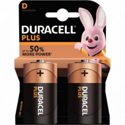 PILE DURACELL PLUS POWER D x 2 5000394019171