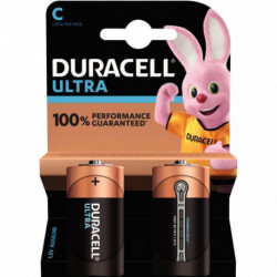 PILE DURACELL ULTRA POWER MN 1400 / LR14 PQT 2 5000394002852