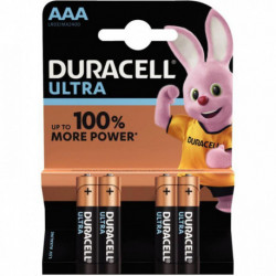 PILE DURACELL ULTRA POWER MN 2400 / LR03 PQT 4 5000394002692