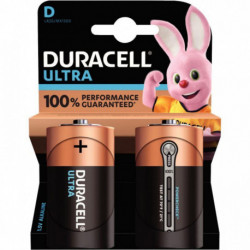 PILE DURACELL ULTRA POWER MN1300 / LR20 PQT 2 5000394002906