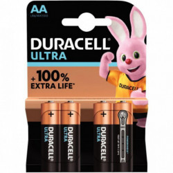 PILE DURACELL ULTRA POWER MN1500 / LR6 PQT 4 5000394002562