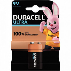 PILE DURACELL ULTRA POWER MN1604 / 9V 5000394105416