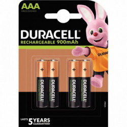 PILE RECHARGEABLE ACTIVE CHARGE HR03/AAA PQT 4 DURACELL 5000394203822