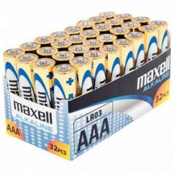 PQ 32 PILE ALC MAXEL LR03 AAA